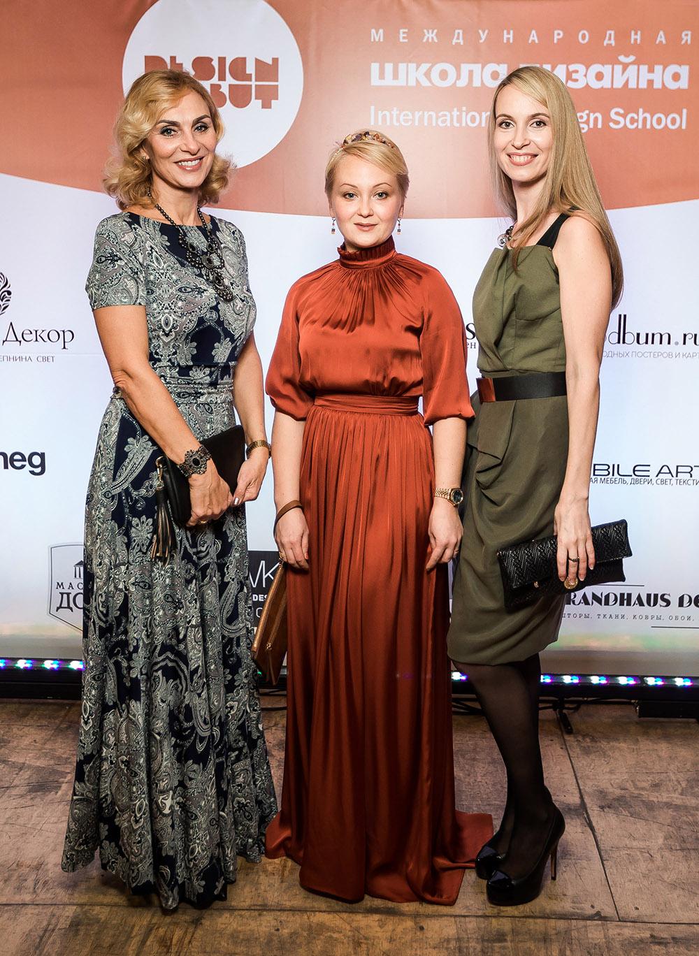 Дизайнеры Ингрид Малахова, Елена Винокурова и Людмила Макарова
