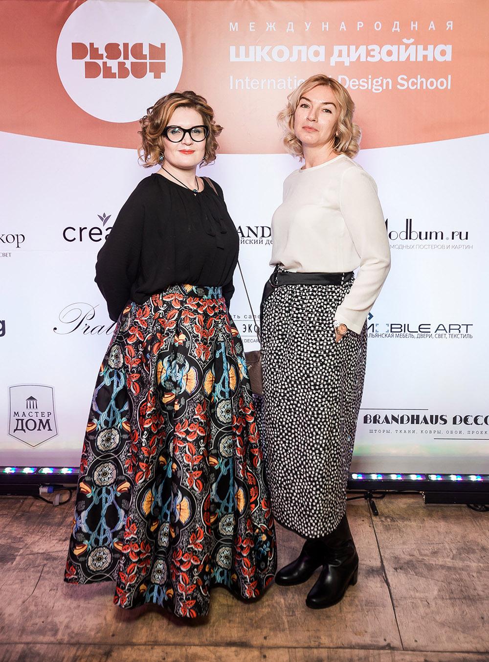 Дизайнеры Нина Ганова и Марина Хромова