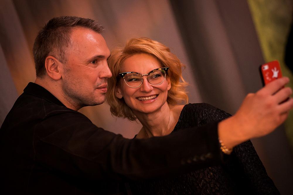 Майк Шилов и Эвелина Хромченко