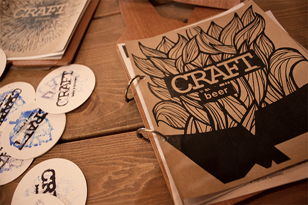 Craft Bar identity