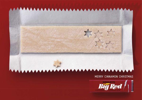 wrigley - christmas ad