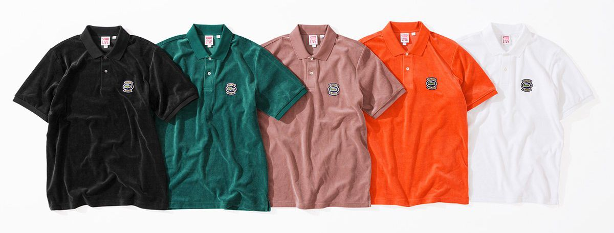Lacoste x Supreme Collection