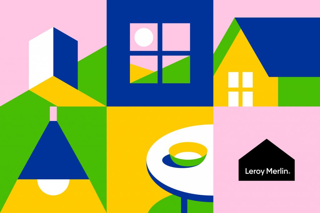 Leroy Merlin rebranding concept