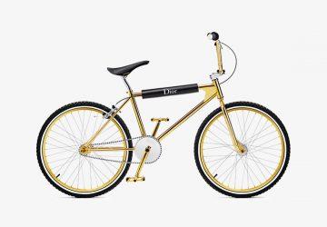 Dior Homme x Bogarde Gold BMX