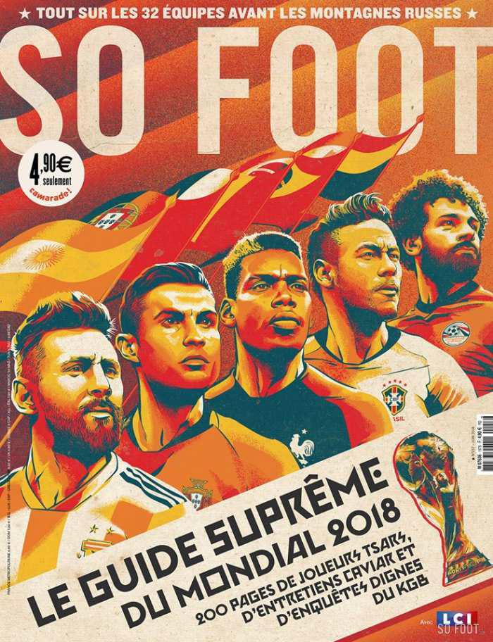 Illustration for So Foot Magazine