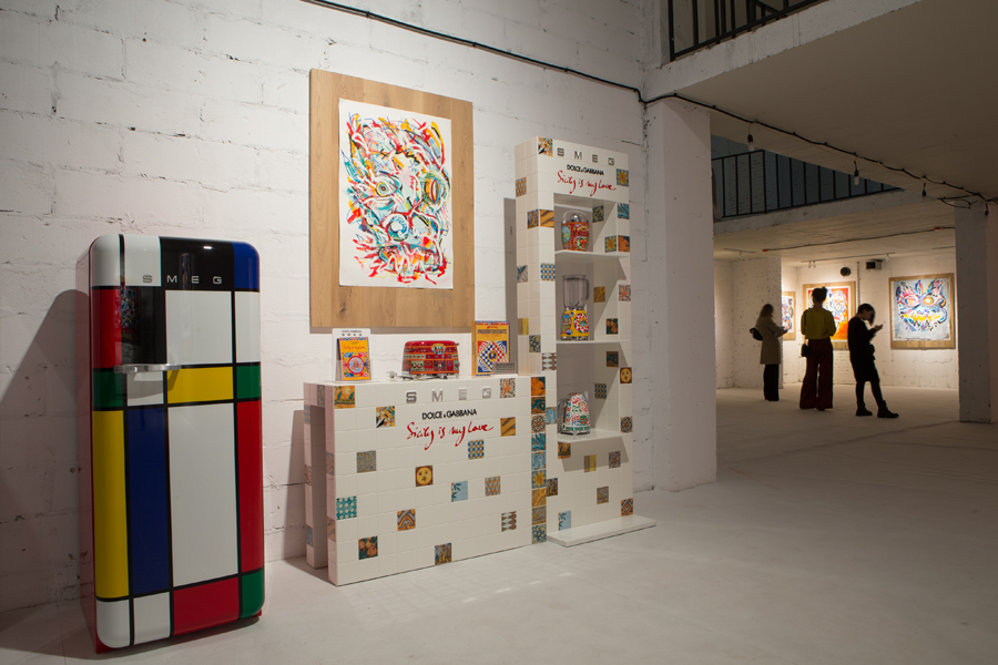 SMEG - Ottepel - Exhibition