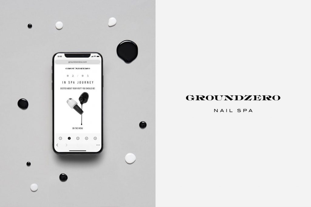 Groundzero Nail Spa by Anagrama Studio
