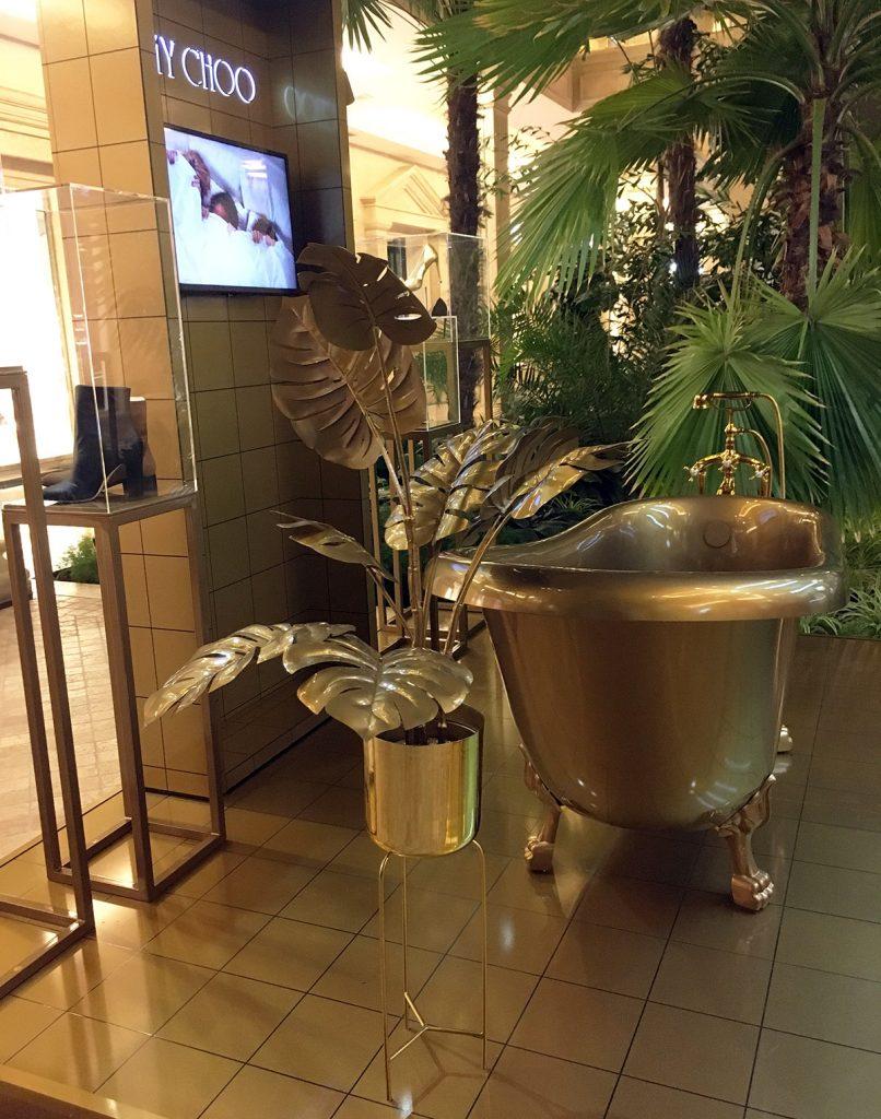 Jimmy Choo Bathtub installation