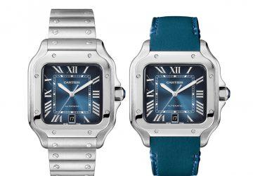 Cartier Santos de Cartier Blue Dial