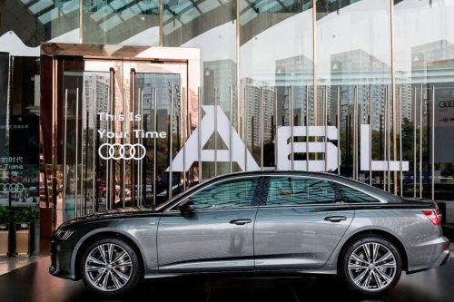 Audi A6L launch in Guangzhou