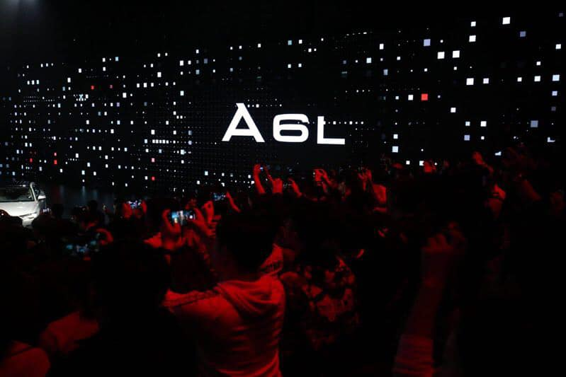 Audi A6L launch in Guangzhou by Radugadesign