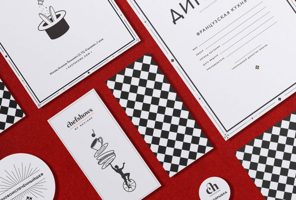 Branding - Chefshows - Pixies