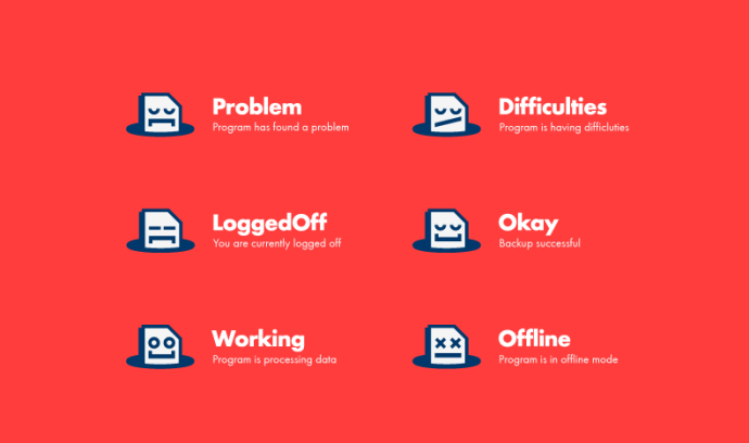 Icons for AngryFile