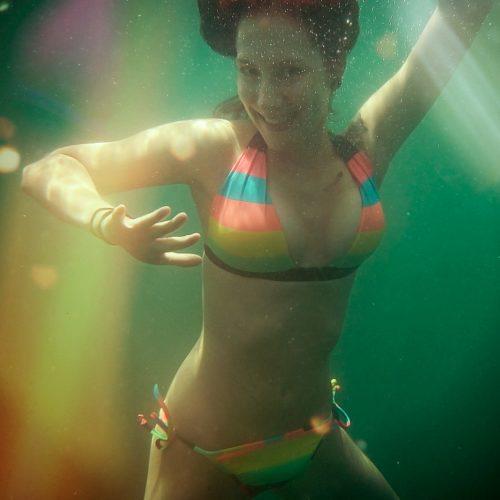 Kleine Unterwasserratte