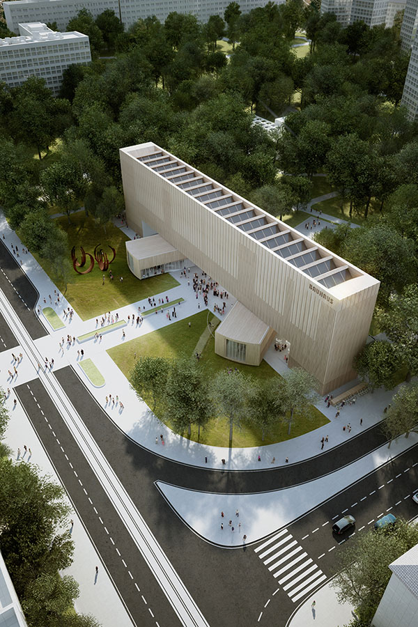 The New Bauhaus Museum