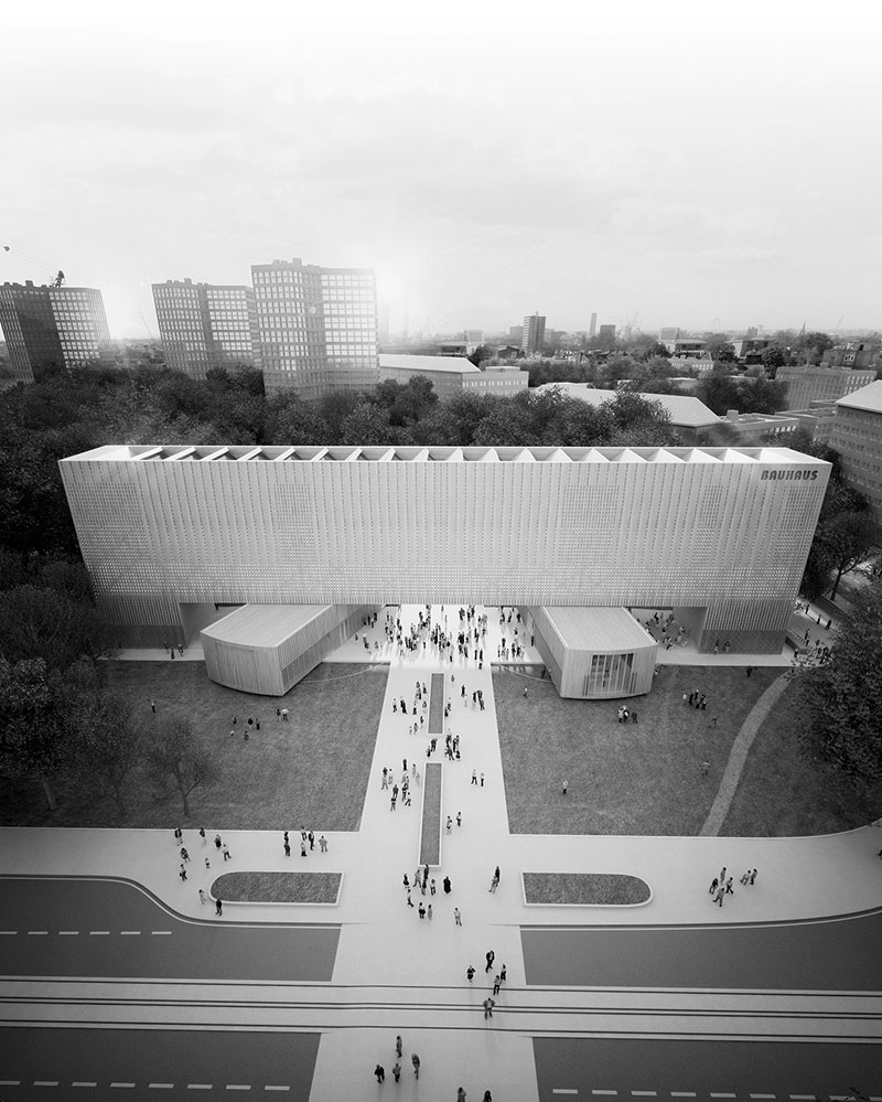 The New Bauhaus Museum