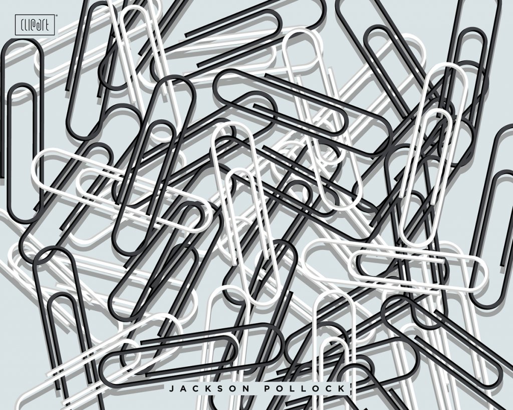 ClipArt Project - Jackson Pollock