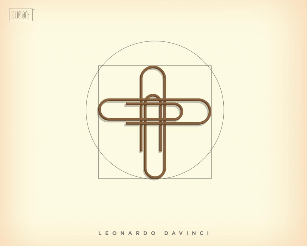 ClipArt Project - Leonardo Davinci