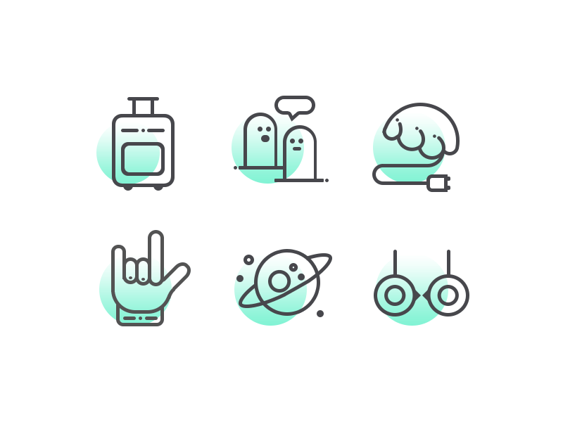 Icons by Along / Dribbble