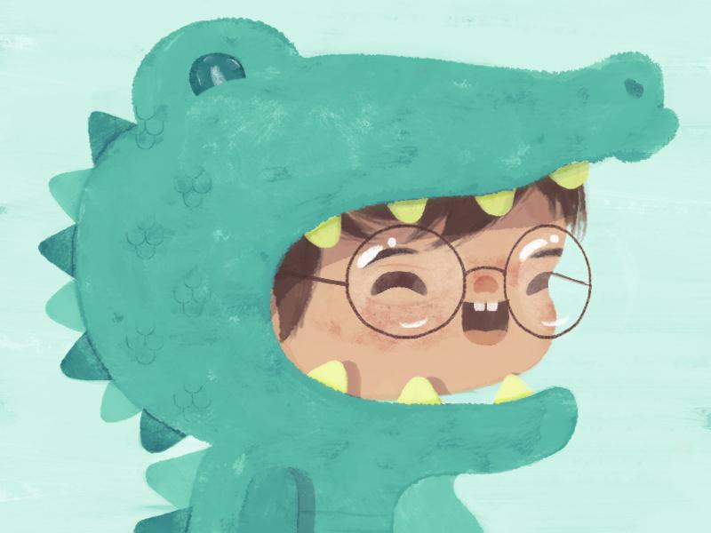 Dribbble inspiration / cocodrilo