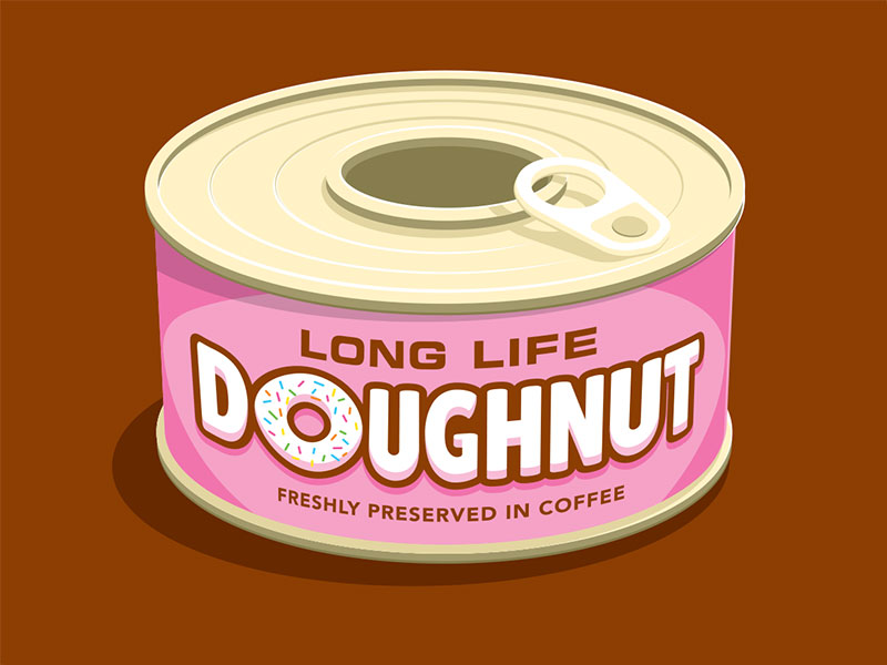 Dribbble Inspiration / donut