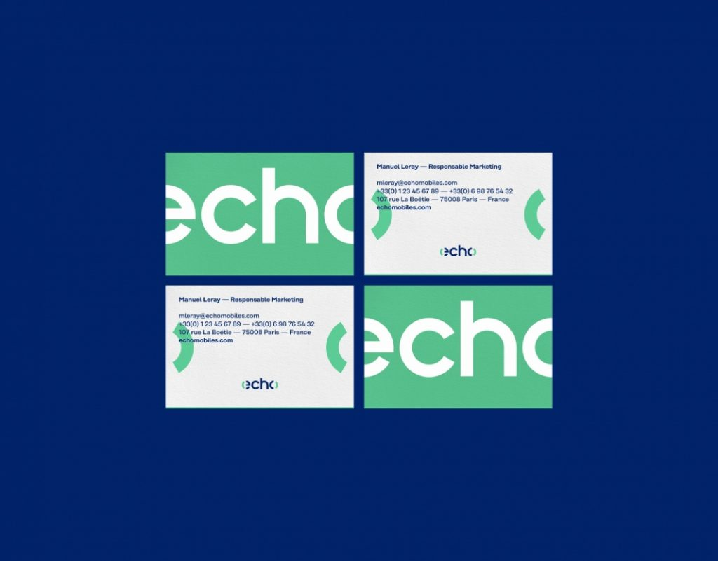 Echo Branding - business cards