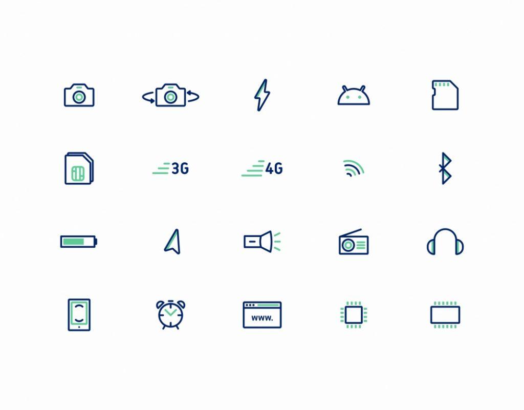 Echo Branding - icons