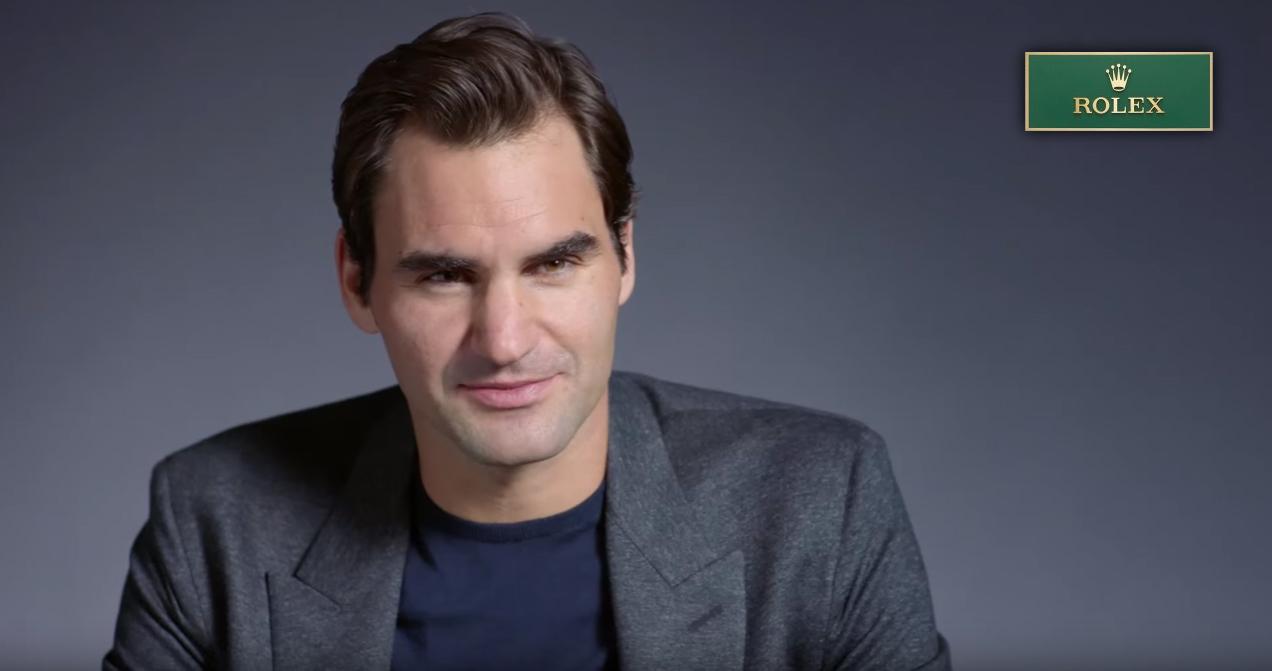 Roger Federer в интервью Rolex