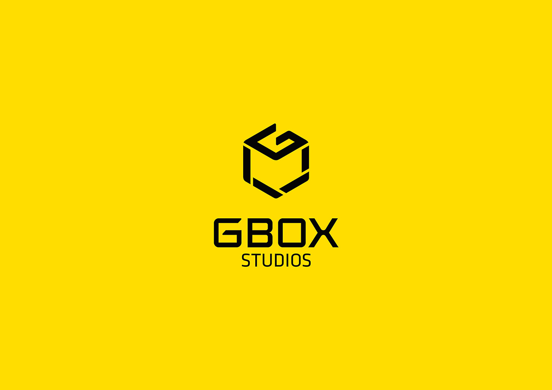 gbox studios brand identity