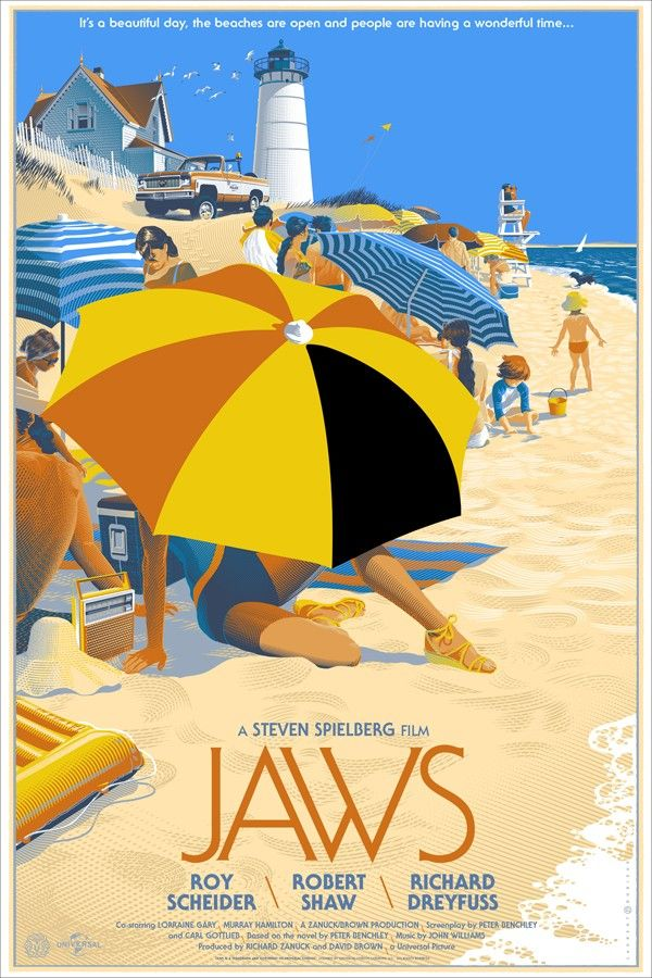 alternative jaws poster