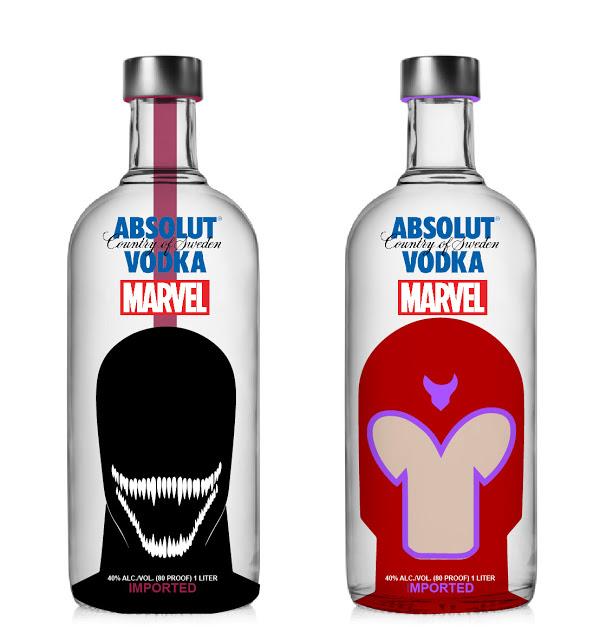 Absolut Vodka x Marvel