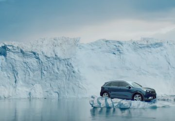 Melissa McCartney in KIA ad