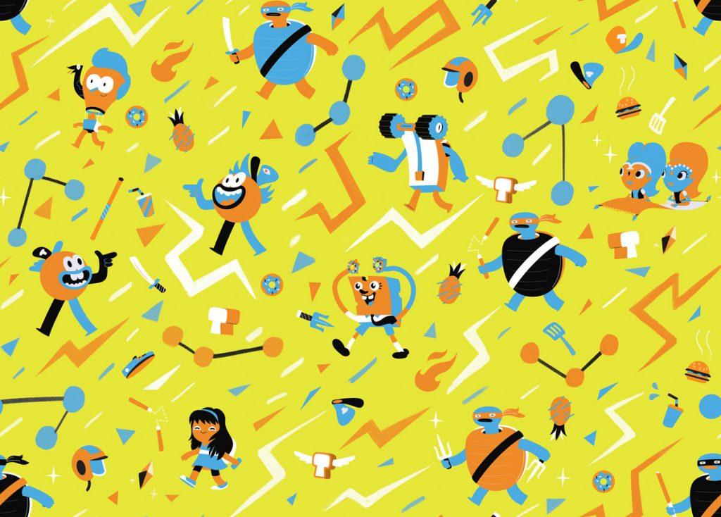 Nickelodeon patterns