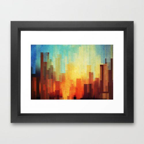 society6-framed-print-1-urban-sunset