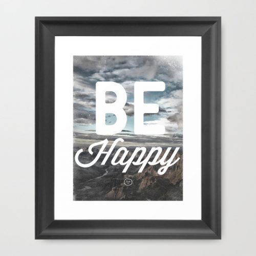 society6-framed-print-4-be-happy