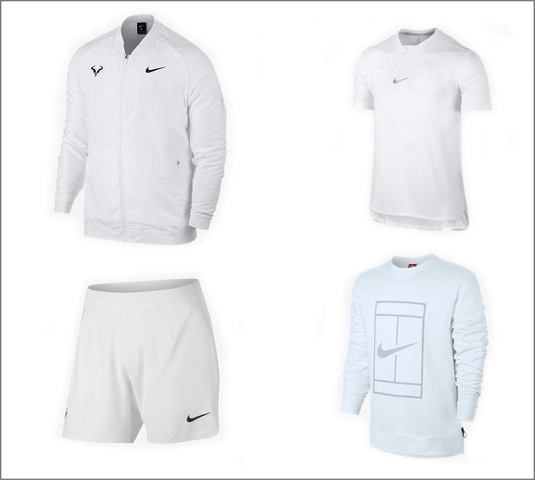 Rafael Nadal outfit - Wimbledon 2017
